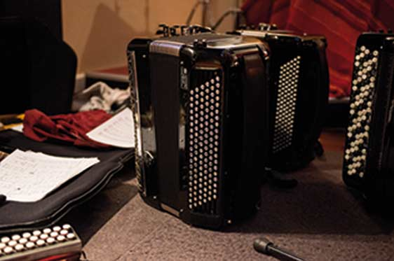 accordeon de studio Maxime Perrin accordéoniste Paris